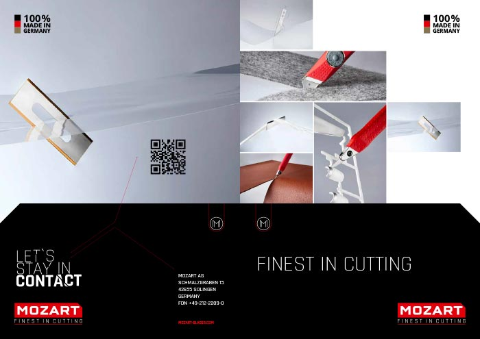 MOZART Blades product catalog